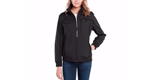 BAUBAX Women's Black Bomber Jacket
