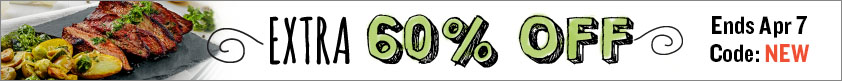 Extra 60% Off!