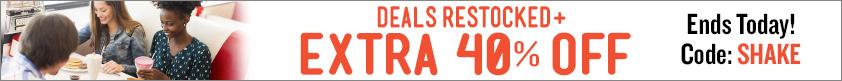 Deals Restocked + Extra 40% Off ALL Certificates!